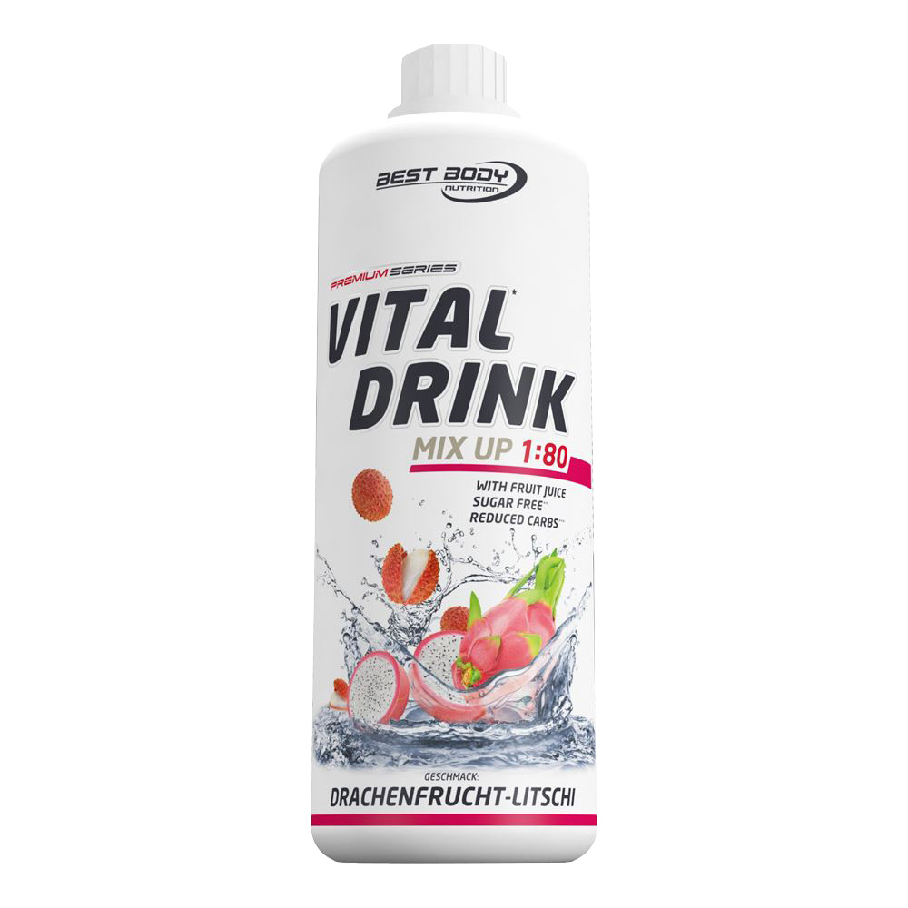 Drachenfrucht Mineraldrink Nutrition Getränkekonzentrat kalorienarm Vital Drink