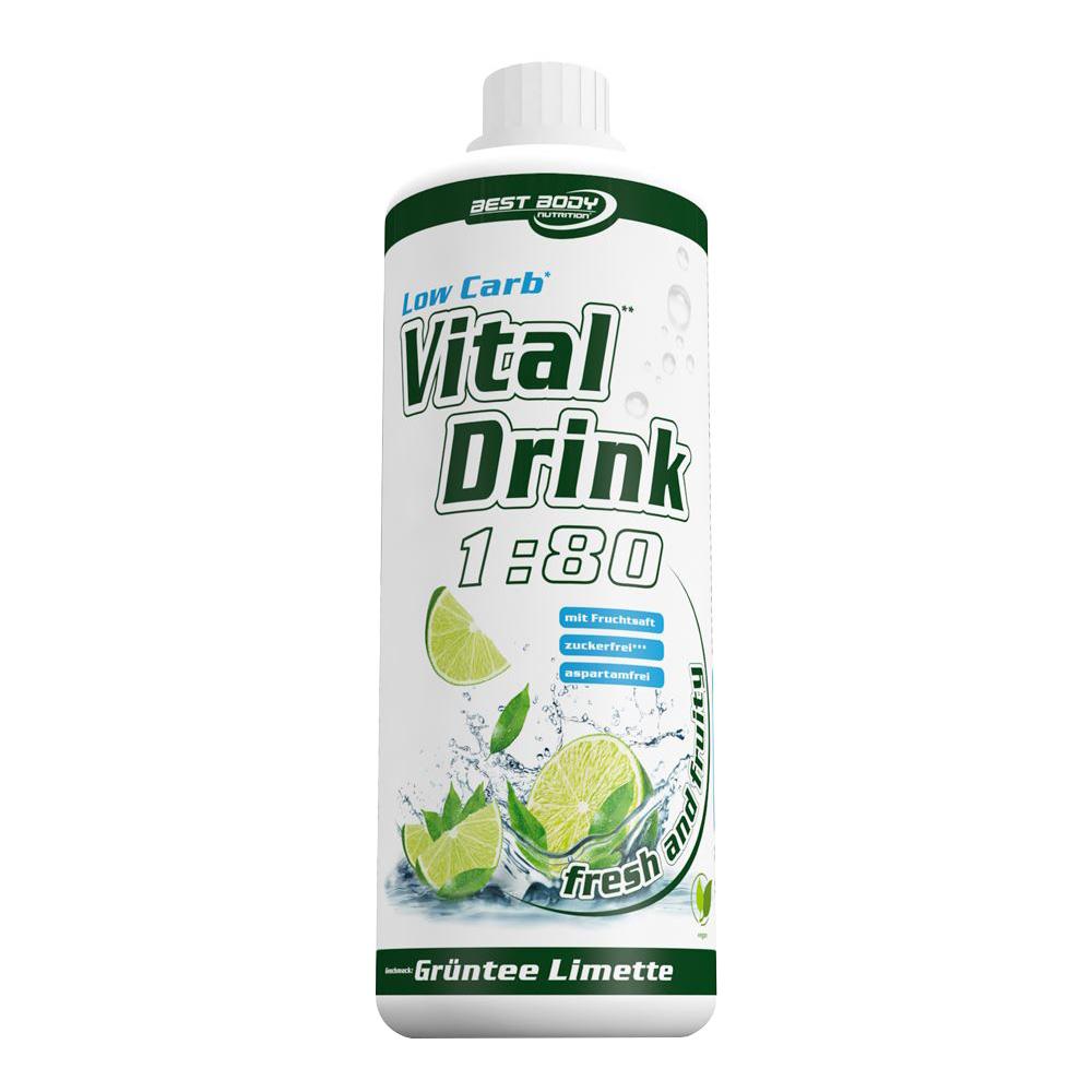 Grüntee Mineraldrink Nutrition Getränkekonzentrat kalorienarmer Vital Drink 1L