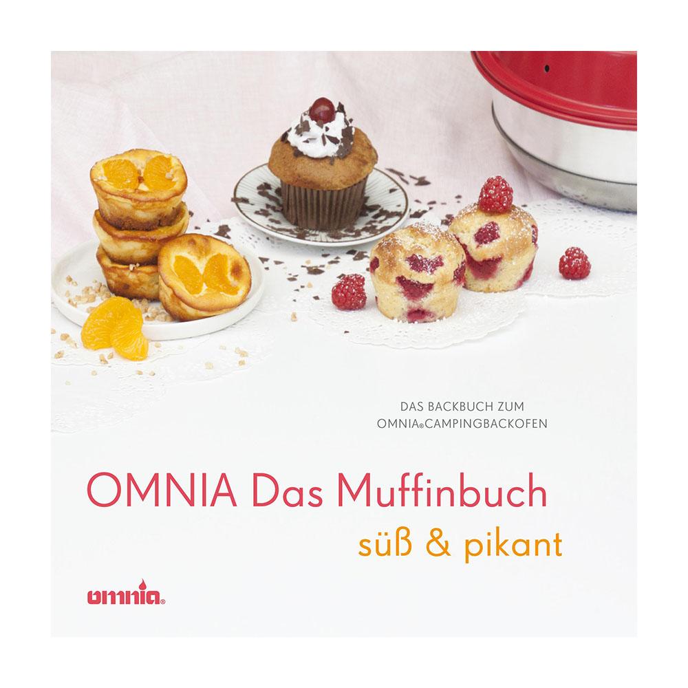 Omnia Backbuch Kochbuch Muffins Backen Kochen Kuchen Cupcake Muffinbuch