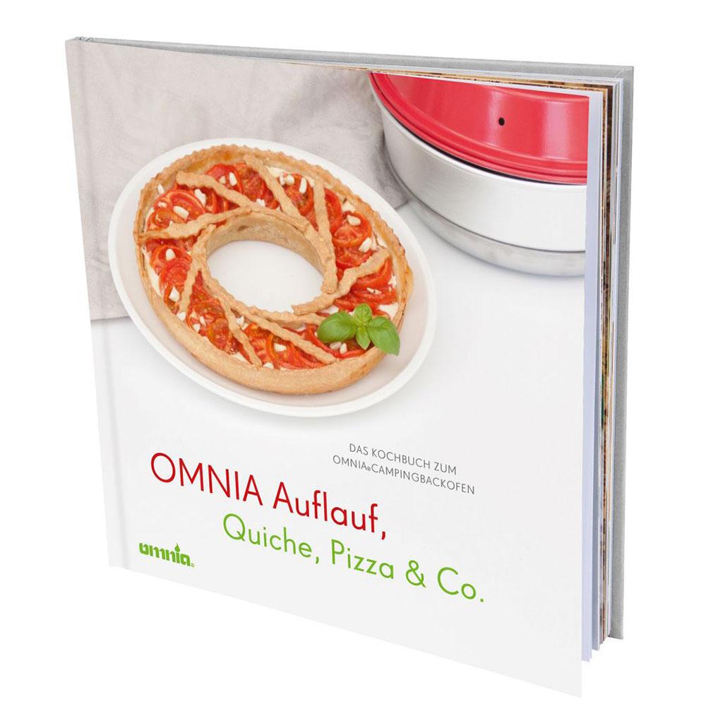Omnia Kochbuch Auflauf Quiche Pizza Kochen Backen Backofen Camping Rezeptbuch