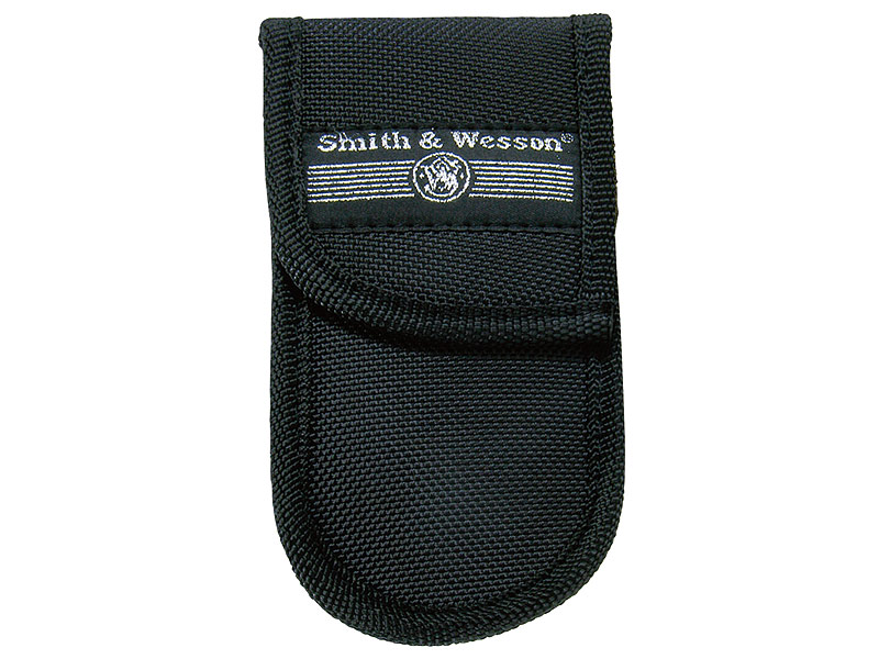 Smith and Wesson Nylon-Etui, schwarz, mit Kunststoff-Clip 137600