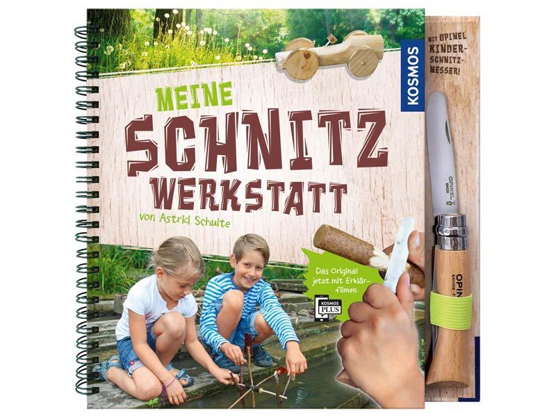 Buch Meine Schnitzwerkstatt, mit Opinel-Kindermesser, Nr. 7 254000