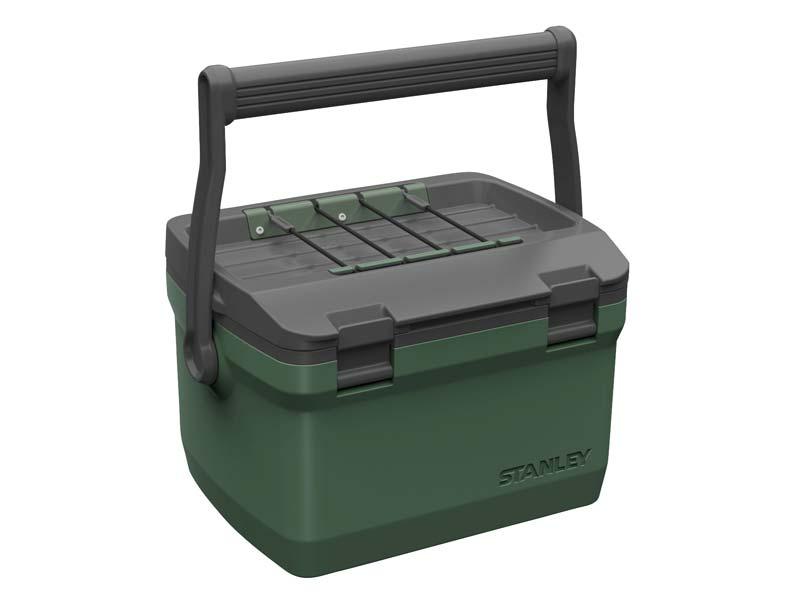 Stanley Adventure Kühlbox, 6.6 Liter Fassungsvermögen, grün 660500