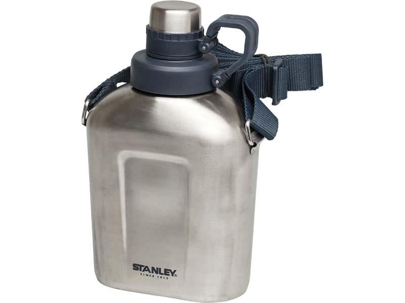 Stanley Adventure Steel Canteen, 1 Liter, 18/8 Edelstahl 663800