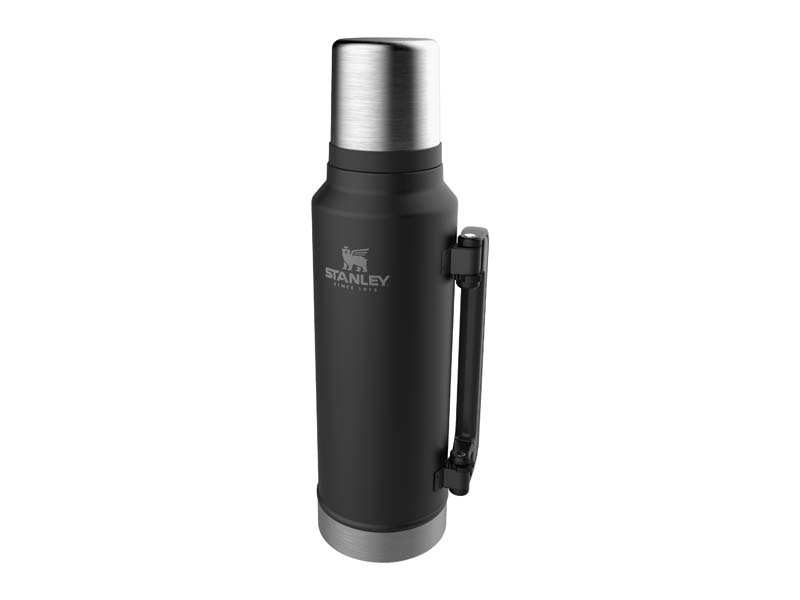 Stanley CLASSIC VAKUUM-FLASCHE 1,4 Liter, matt schwarz 668201