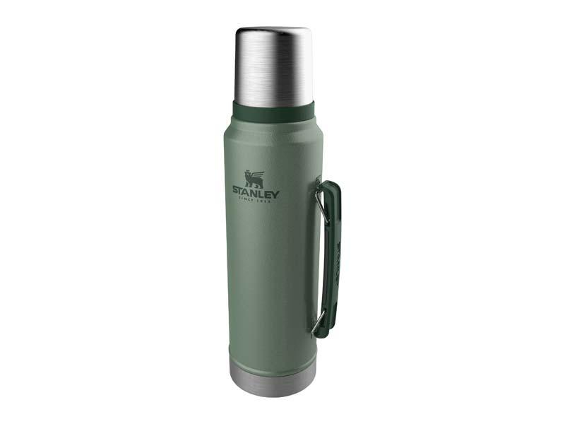 Stanley CLASSIC VAKUUM-FLASCHE 1,0 Liter, Hammertone grün 668300
