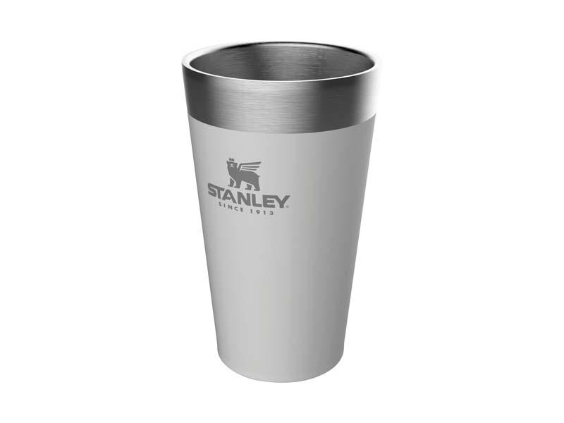 Stanley ADVENTURE VACUUM PINT 0,47 Liter, Edelstahl 18/8, polarweiss 669402