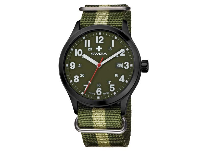 Swiza Uhr Kretos Gent, Schweizer Qualitäts-Quarzlaufwerk 78032
