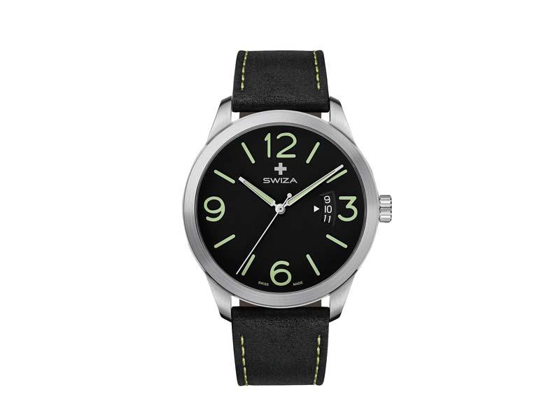 SWIZA Armbanduhr MAGNUS, ETA F07.111 Uhrwerk, Saphirglas 78056