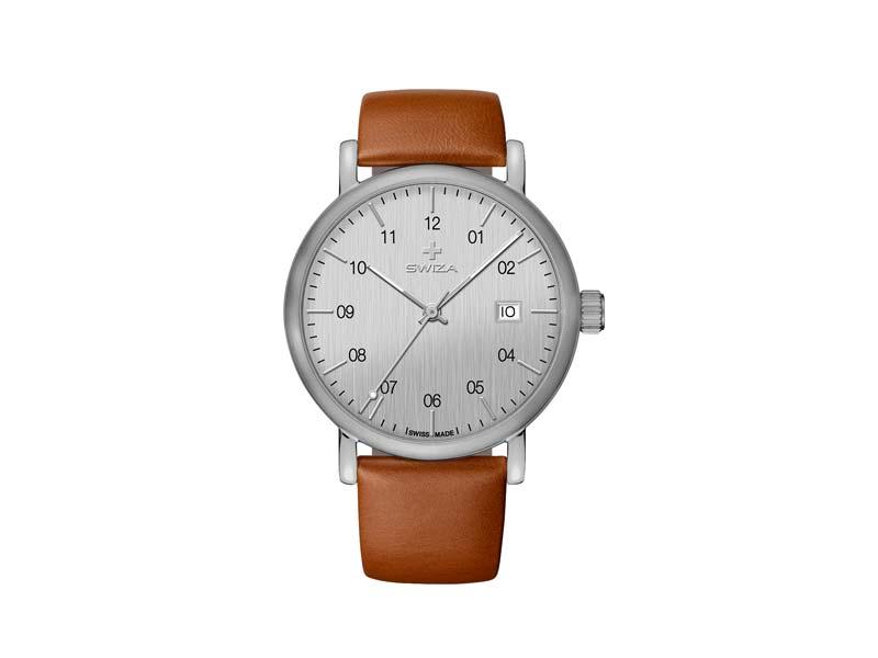 SWIZA Armbanduhr ALZA, Schweizer Quarzwerk Ronda 515, Edelstahl 316L 78063