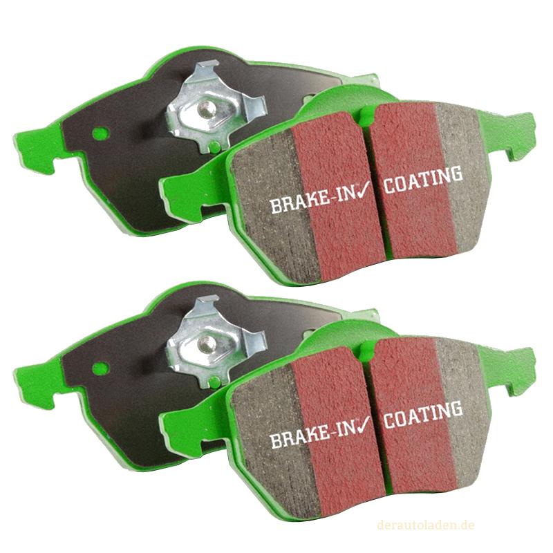 EBC Greenstuff Bremsbeläge DP2366 Bremsklötze Vorderachse Bremsen Belag brakes