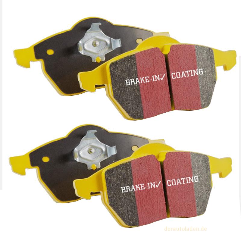 EBC Yellowstuff Bremsbeläge DP41118R Bremsklötze Hinterachse Bremsen Belag brakes