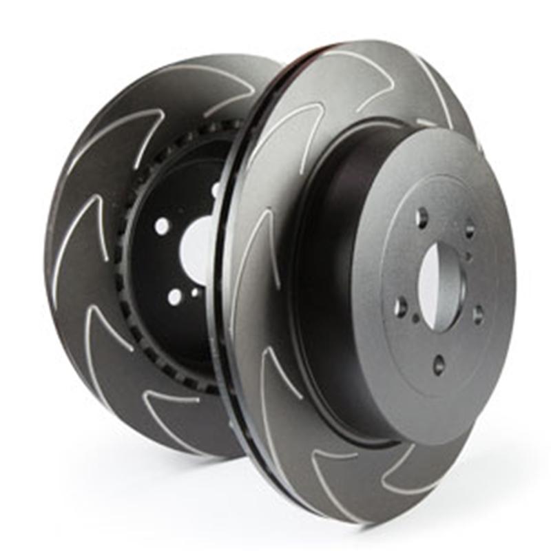 EBC Sport Bremsscheibe BSD1400 High-Carbon Blade Disc Black Hinterachse mit ABE