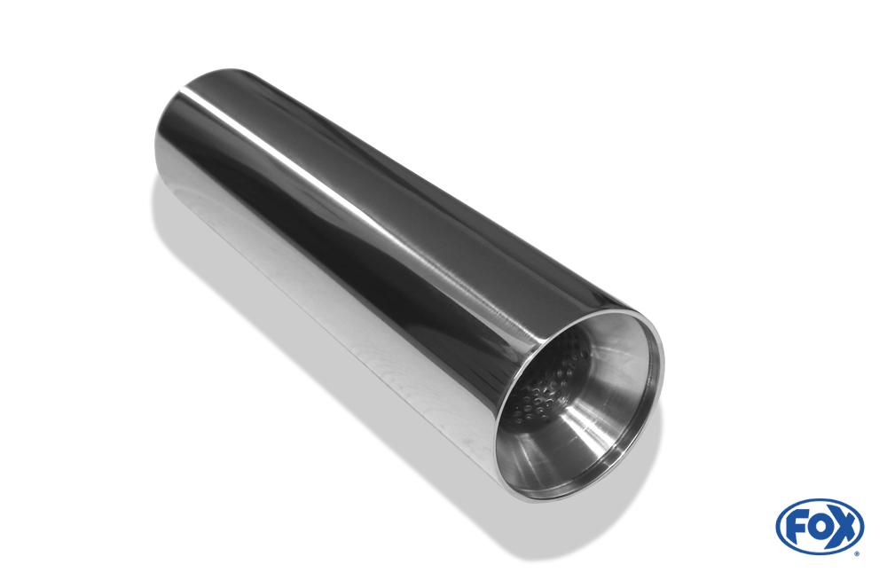 Fox Anschweißendrohr 22-0800300 für Typ 22 Ø 80 mm