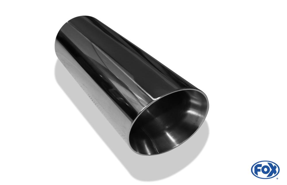 Fox Anschweißendrohr 25-1000300 für Typ 25 Ø 100 mm