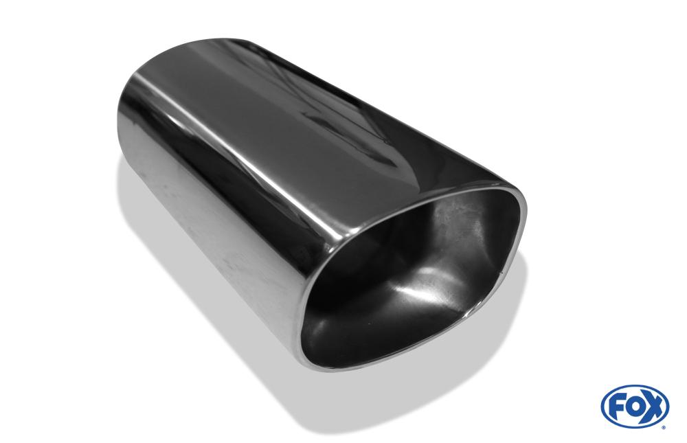 Fox Anschweißendrohr 72-088790300 für Typ 72 88 x 79 mm