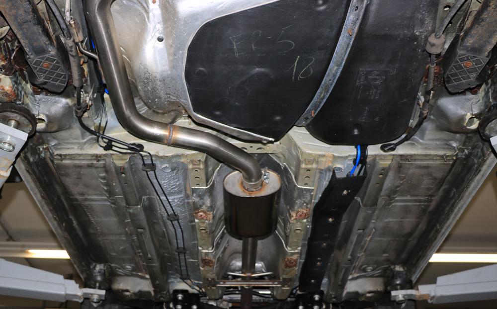 Fox Vorschalldämpfer AL120000-VSD für Alfa Romeo Brera
