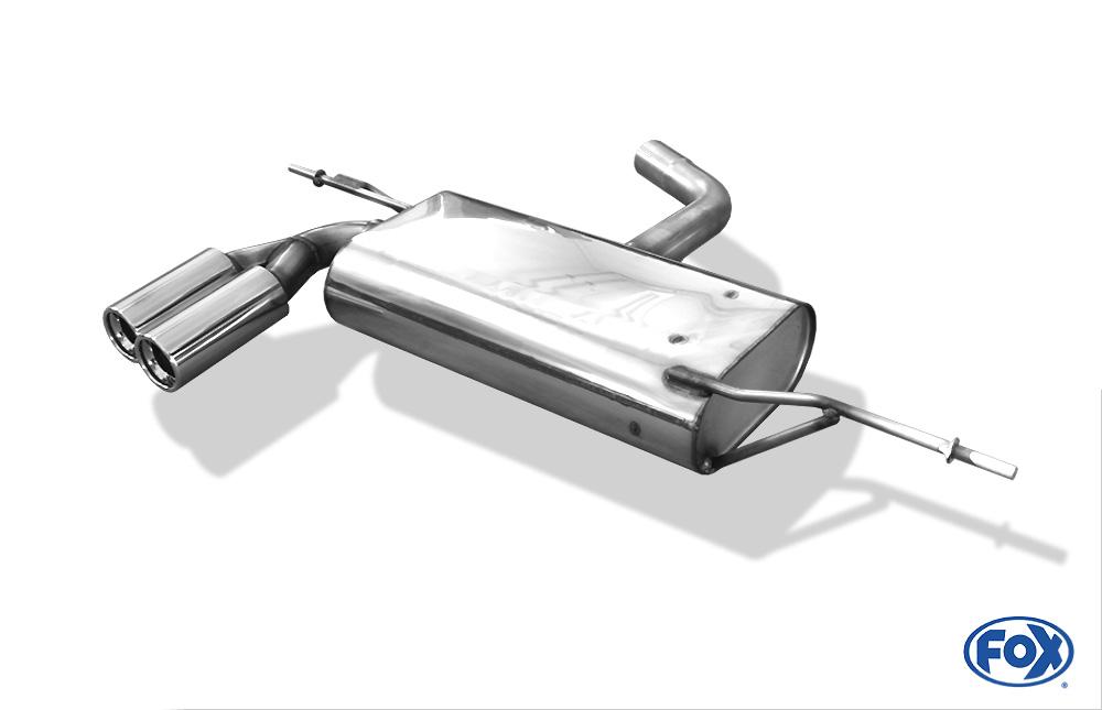 Fox Endschalldämpfer AU051015-068 für Audi A3/ S3