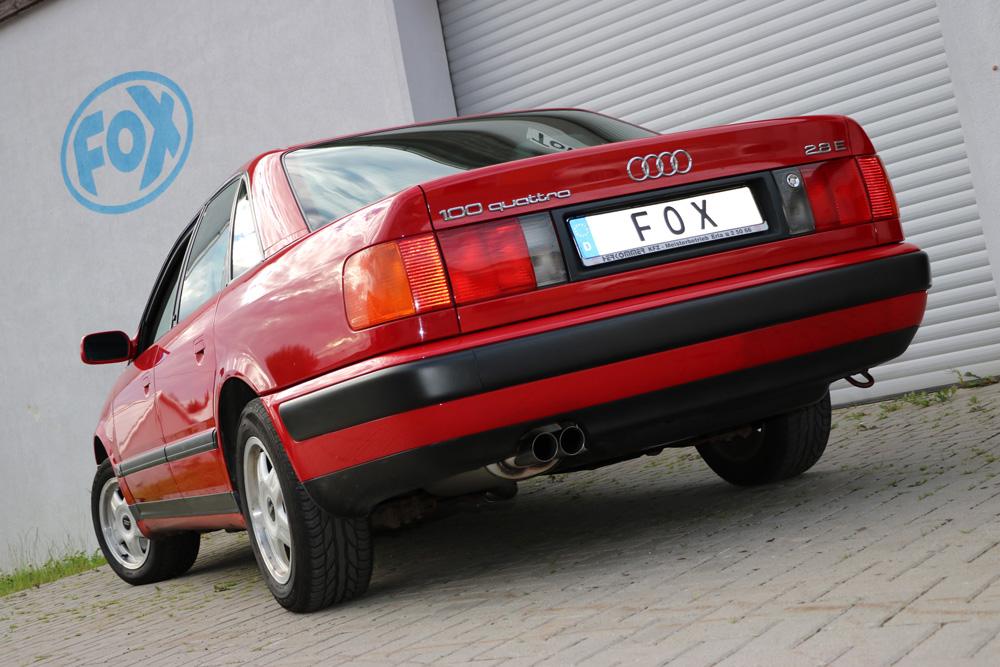 Fox Endschalldämpfer AU070032-086 für Audi 100/ A6/ S6 Type C3/C4