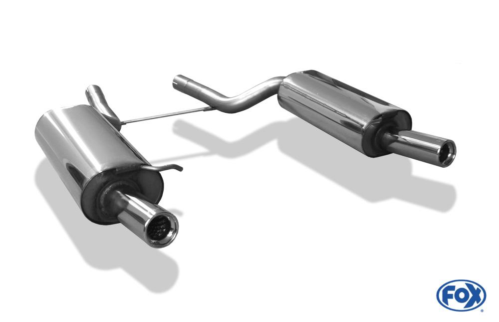 Fox Duplex Endschalldämpfer AU071051-069 für Audi A6/ S6/ RS6