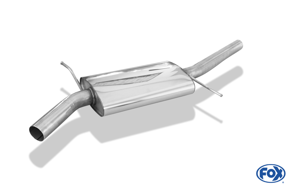 Fox Mittelschalldämpfer AU121000-MSD für Audi A4/ S4/ RS4