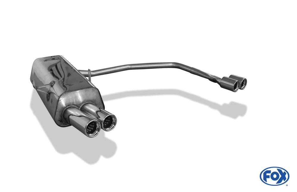 Fox Duplex Endschalldämpfer BM021054-068 für BMW 3er Reihe