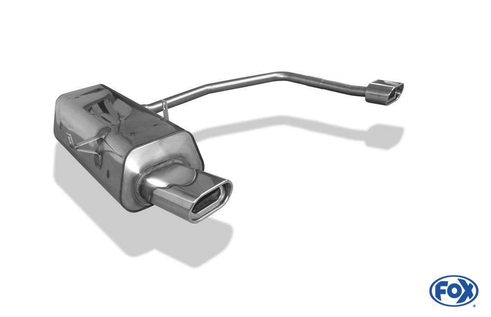 Fox Duplex Endschalldämpfer BM021054-593 für BMW 3er Reihe