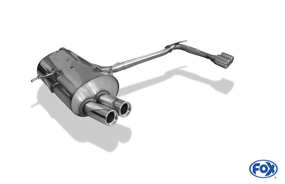Fox Duplex Endschalldämpfer BM022154-068 für BMW 3er Reihe