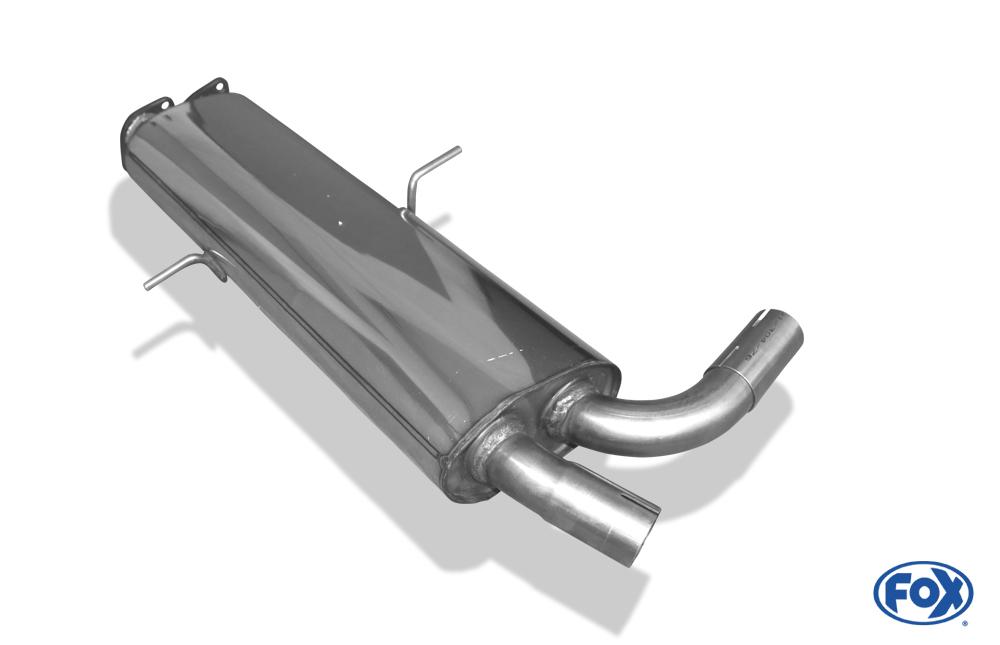 Fox Vorschalldämpfer BM110000-VSD für BMW X5