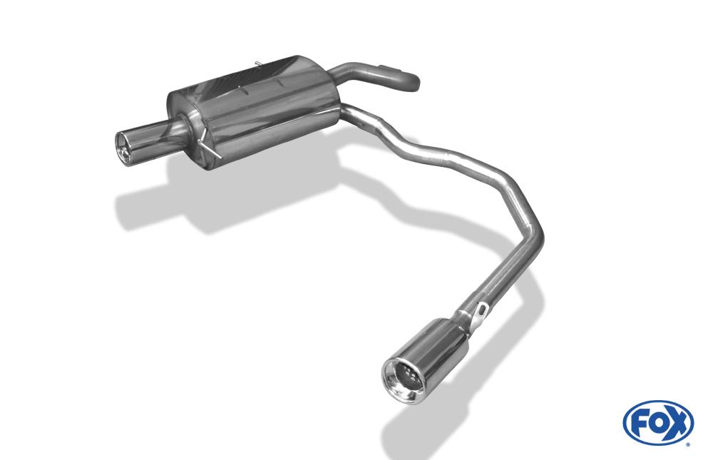 Fox Duplex Endschalldämpfer CR080053-071 für Chrysler PT-Cruiser