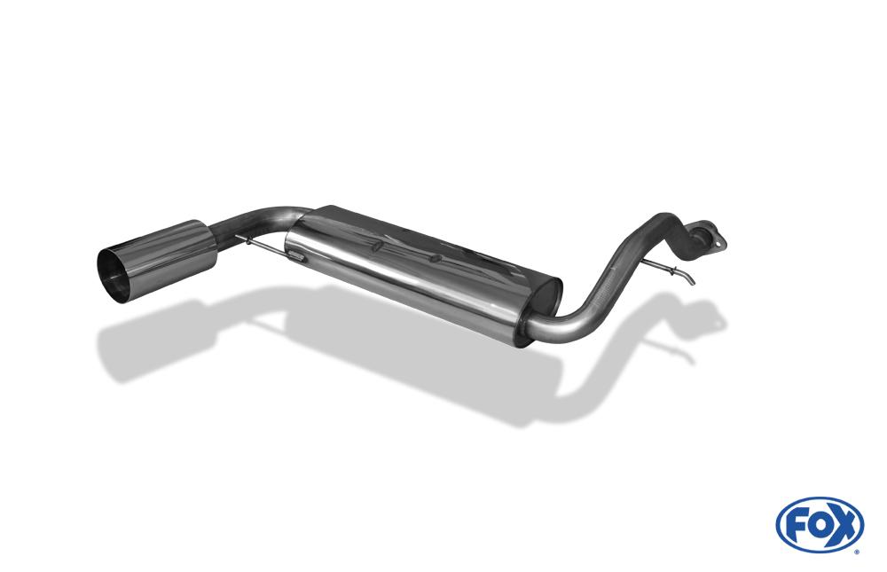 Fox Endschalldämpfer HO010007-015 für Honda Civic