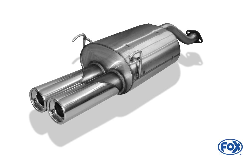 Fox Endschalldämpfer HO011082-072 für Honda Civic