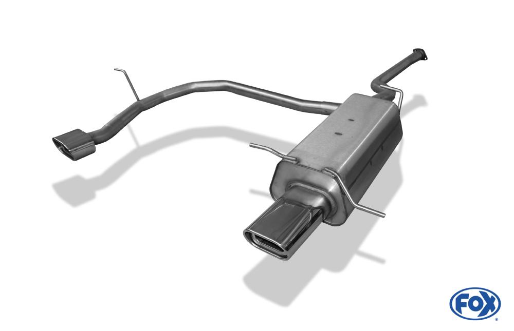 Fox Duplex Endschalldämpfer HY120003-593 für Hyundai Santa Fe