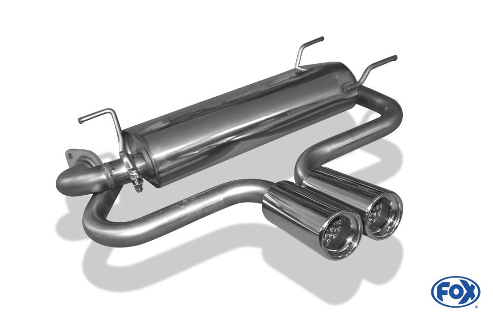 Fox Endschalldämpfer MA081012-070 für Mazda MX5