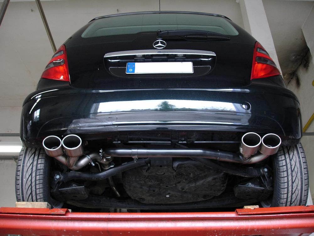 Fox Duplex Endschalldämpfer MB021011-346 für Mercedes A-Klasse