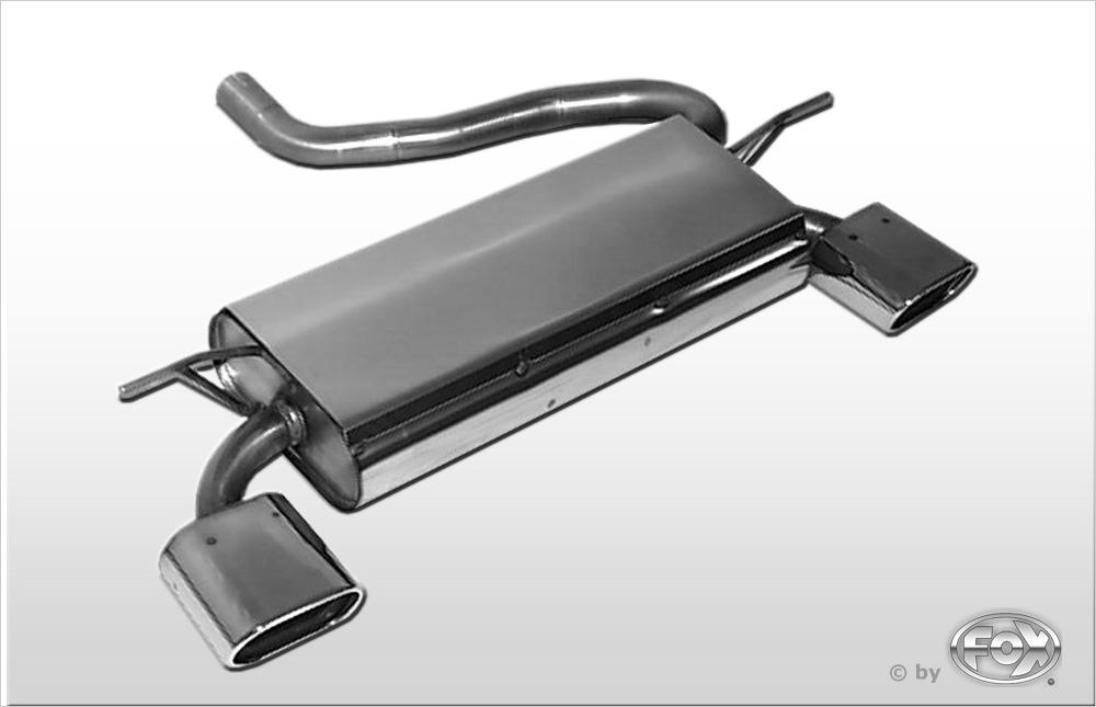 Fox Duplex Endschalldämpfer MN020055-593 für Mini One/ Cooper R50