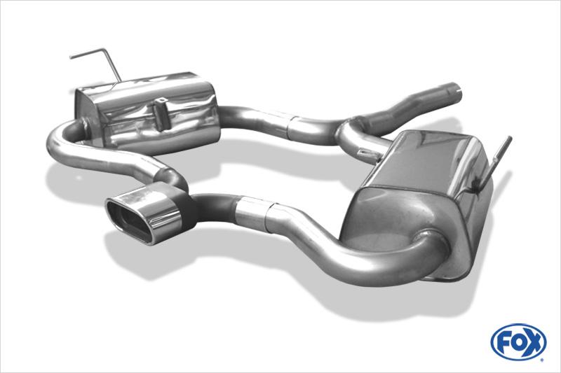 Fox Duplex Endschalldämpfer MN020094-593 für Mini Cooper S R53