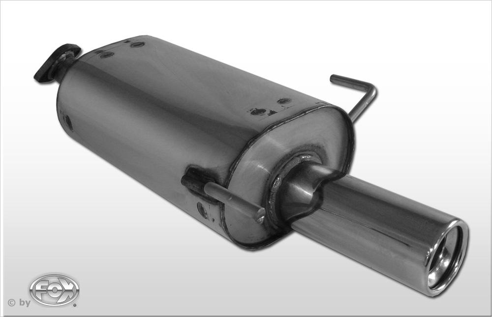 Fox Endschalldämpfer NI030001-069 für Nissan Almera