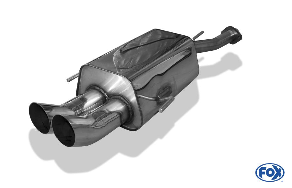Fox Endschalldämpfer OP041002-166 für Opel Astra