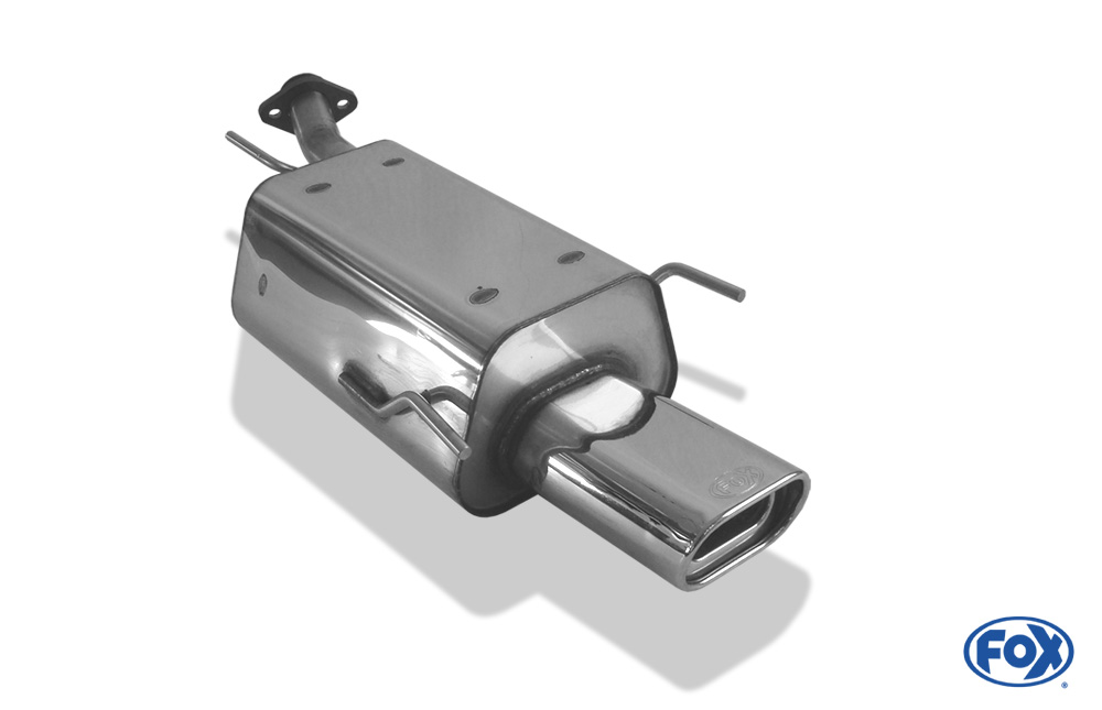 Fox Endschalldämpfer OP041002-593 für Opel Astra