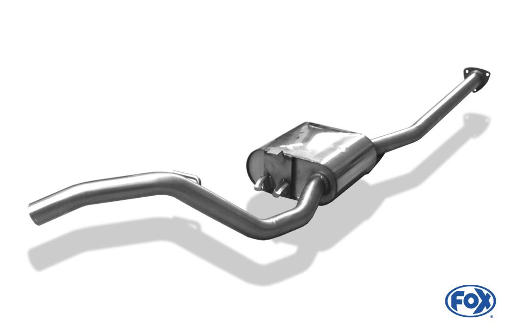 Fox Vorschalldämpfer OP080000-VSD für Opel Calibra