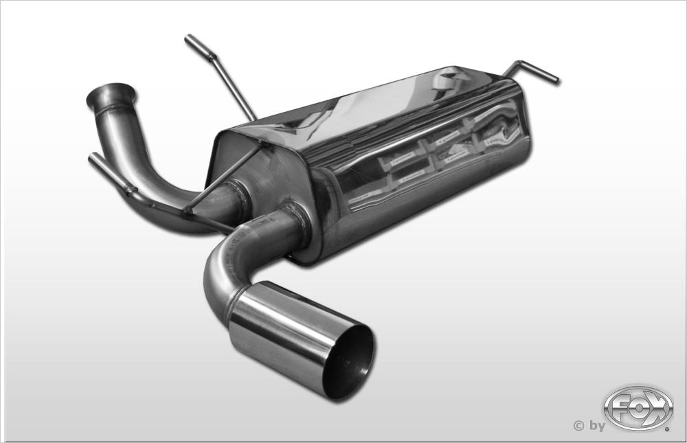 Fox Endschalldämpfer PE021087-011 für Peugeot 206