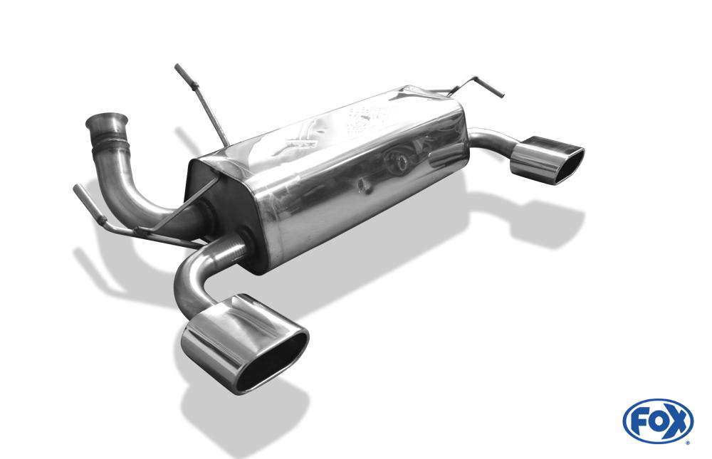 Fox Duplex Endschalldämpfer PE021095-583 für Peugeot 206