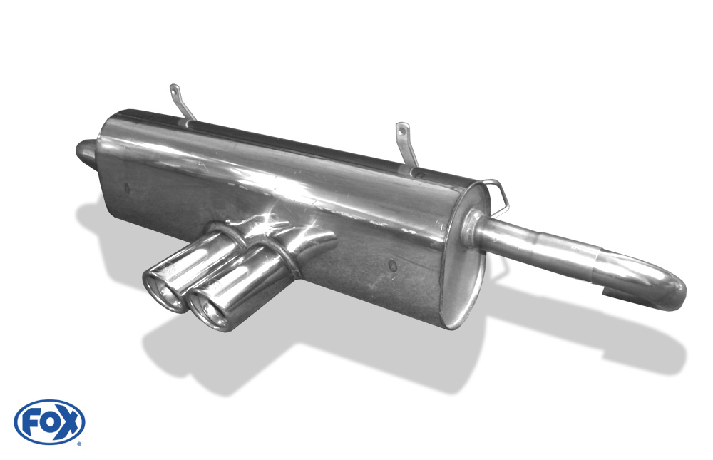 Fox Endschalldämpfer PO090015-150 für Porsche Boxster