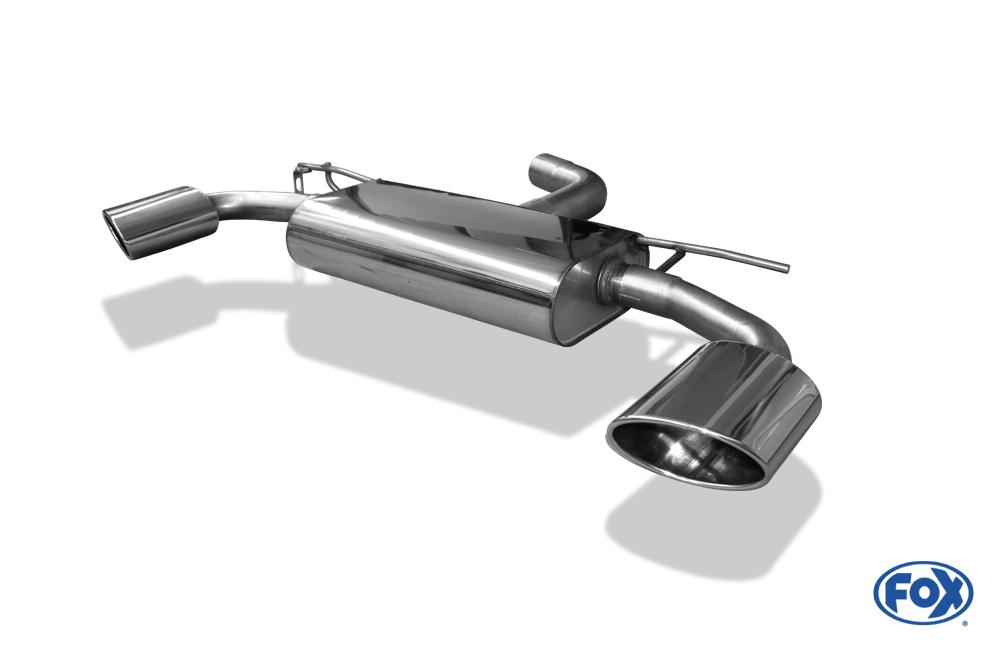 Fox Duplex Endschalldämpfer SE042165-467 für Seat Leon