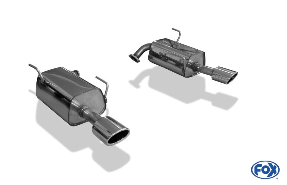Fox Duplex Endschalldämpfer SU100003-727 für Subaru Levorg