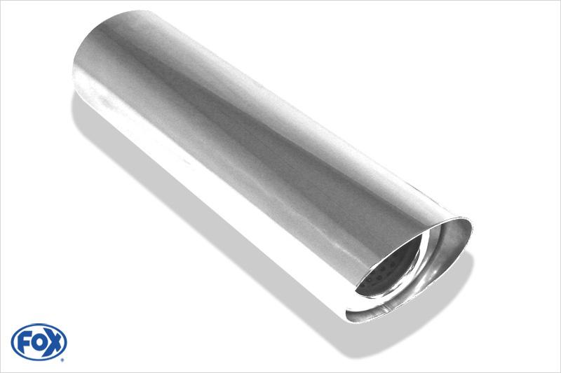 Fox Anschweißendrohr 31-106710300 für Typ 31 106x71 mm