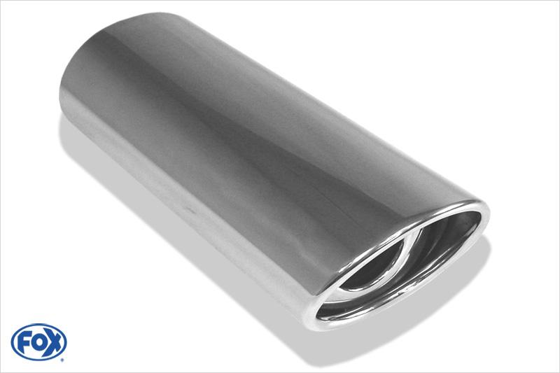 Fox Anschweißendrohr 33-106710300 für Typ 33 Ø 106x71 mm