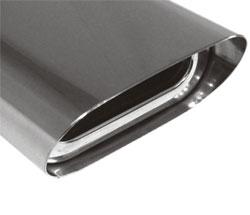 Fox Anschweißendrohr 51-160800300 für Typ 51 Ø 160x80 mm
