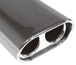 Fox Anschweißendrohr 58-160800300 für Typ 58 Ø 160x80 mm